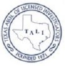 Texas Assoc. of Lic. Investigators